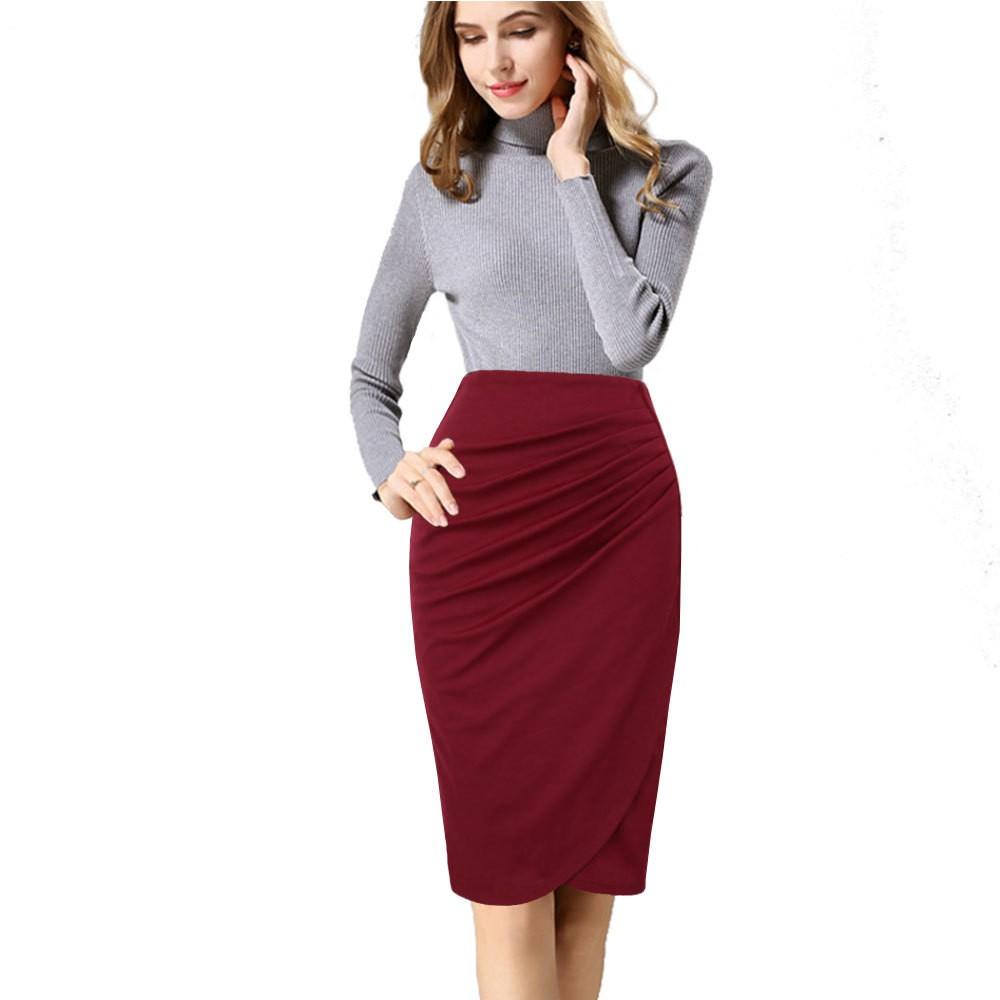 46f8011d81 Ready Stock📣Women Plus Size Bowknot Loose High Waist Midi Skirt | Shopee  Malaysia