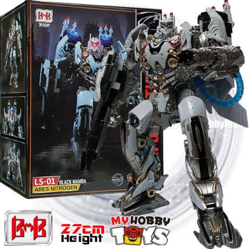 Black Mamba Robot Ares Nitrogen Zeus New In Stock