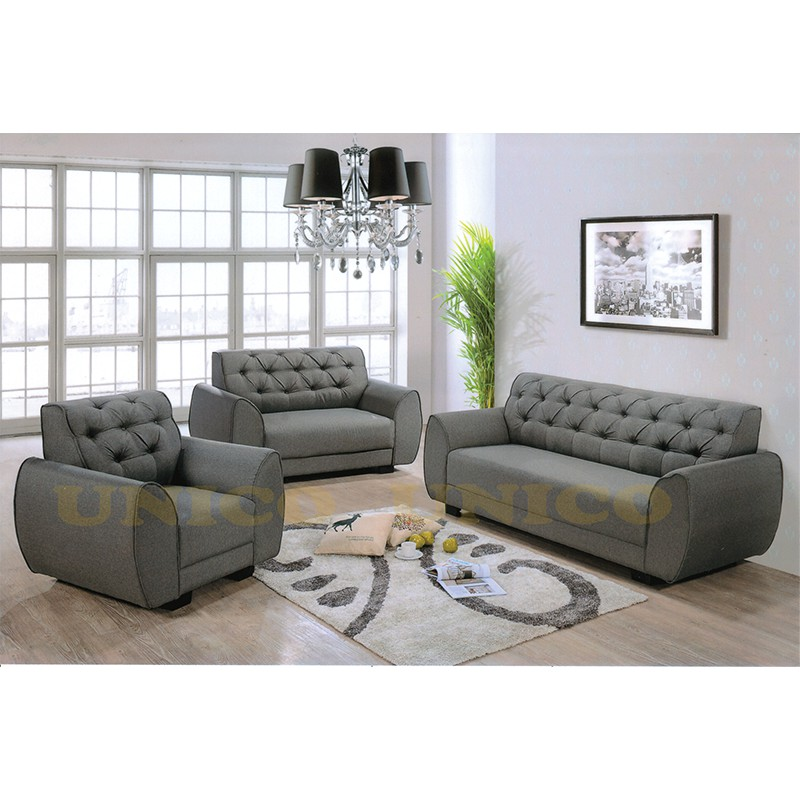 Clear Stock Sofa Set Purple Sho