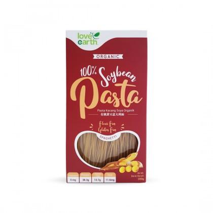 Love Earth Organic Soybean Pasta Spaghetti 200g 乐儿有机黄豆意大利面条 200公克