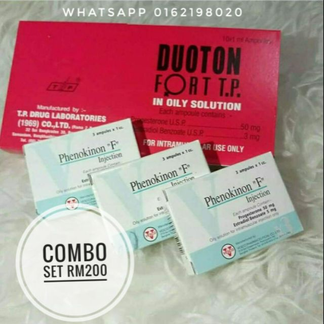 COMBO SET ( DUOTON + PHENOKINON )