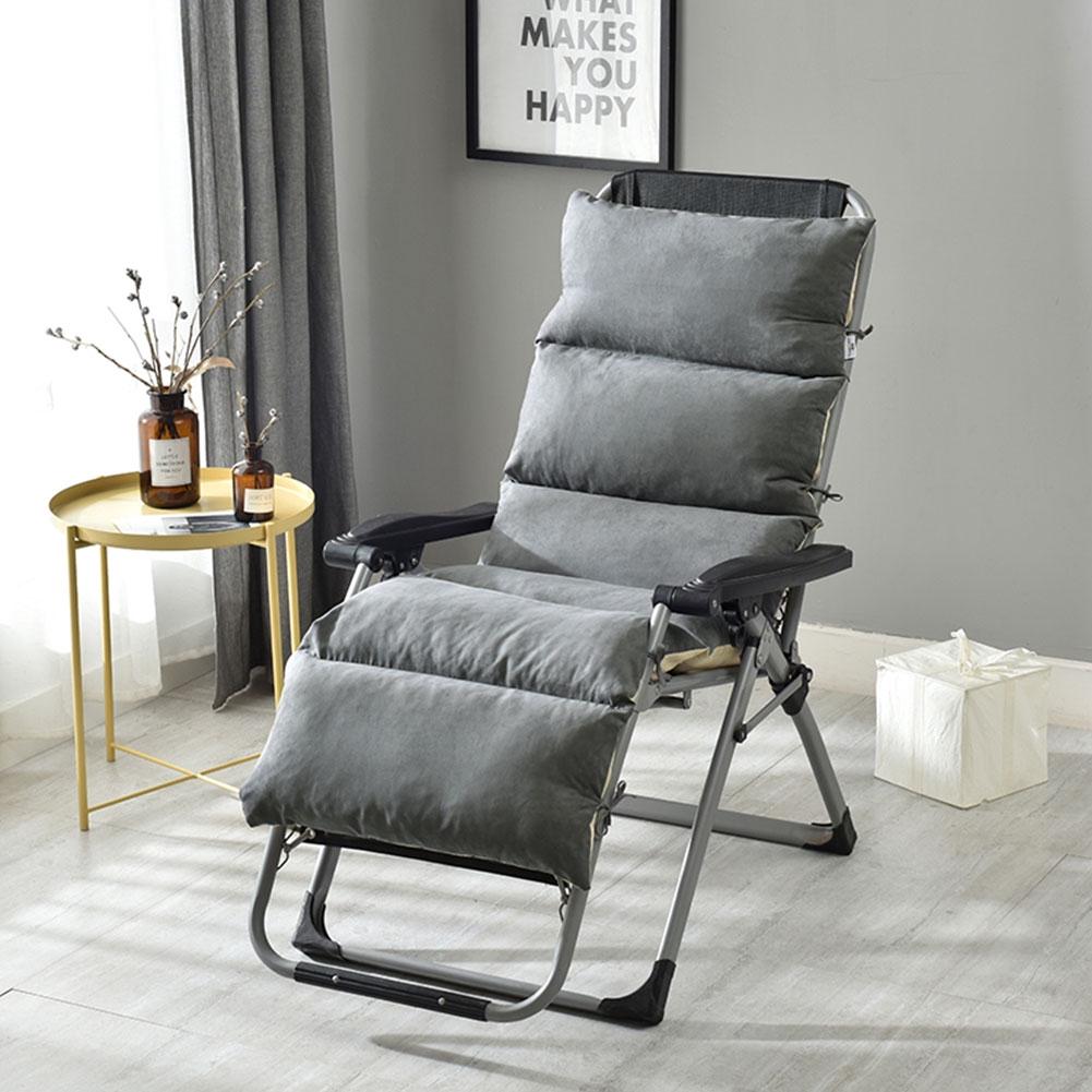 Lounge Chair Cushion Thick Outdoor Patio Backyard Garden Lounge Seat Padding Mat