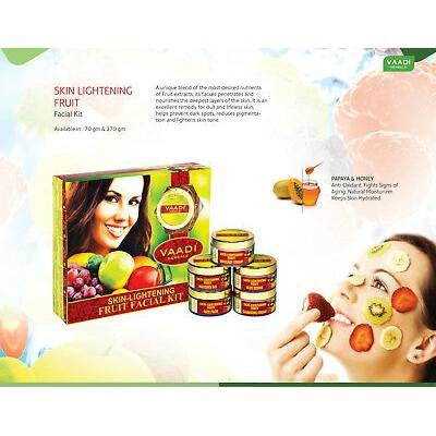 Vaadi Herbals Skin Lightening Fruit Facial Kit - 270g