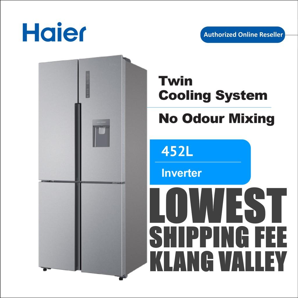 Haier HTF-452WM7 519L 4 Door Twin Cooling DC Inverter Refrigerator Fridge Peti Sejuk