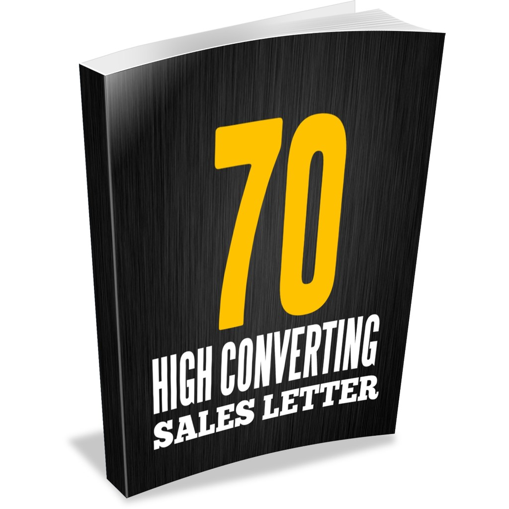 70 DFY High Converting Sales Letters