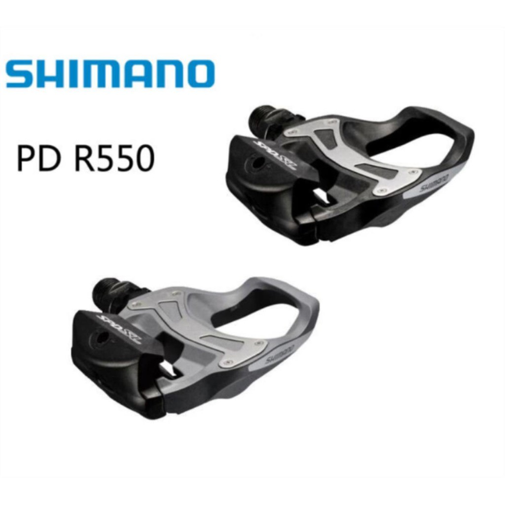 Pedal Clipless Road Bicycle Pedals 6° Float Cleats For bike PD R550 SPD SL
