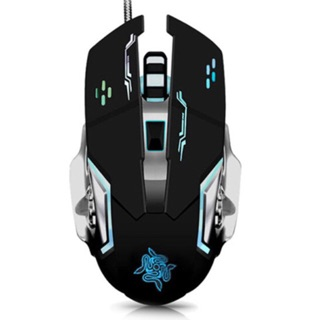 Mechanical Gaming mouse 3200DPI 6 Buttons LED Breathing Light USB Wired