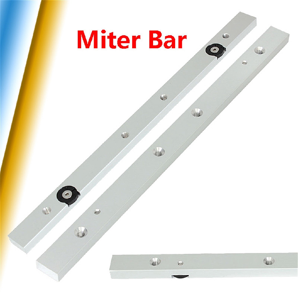 Aluminium Alloy Rail Miter Bar Slider Table Saw Gauge Rod Woodworking Tool