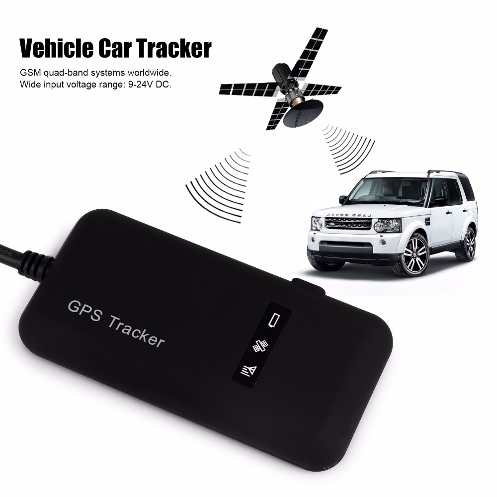 Satellite GPS locator gt02a car tracker motorcycle car alarm free shipping