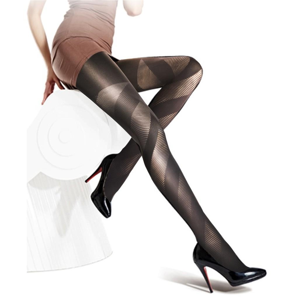 Semlouis Ladies Fashion Pantyhose - Design 4