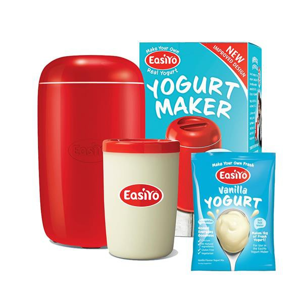 Easiyo Yogurt Maker + Vanilla Yogurt Powder [Bundle]