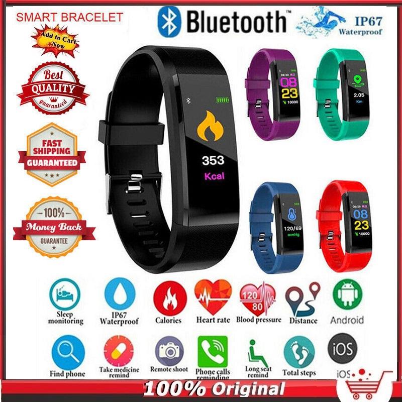 Smart Band Health Bracelet Rate Blood Pressure Smart Band Fitness Tracker Smart Watch