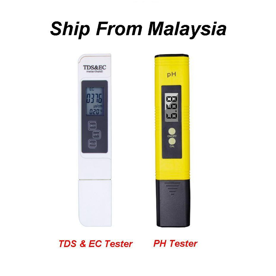 Ph Meter Tds Ec Monitor Temp Water Tester Shopee Malaysia With Temperature Dual Display Backlight Ez 2b
