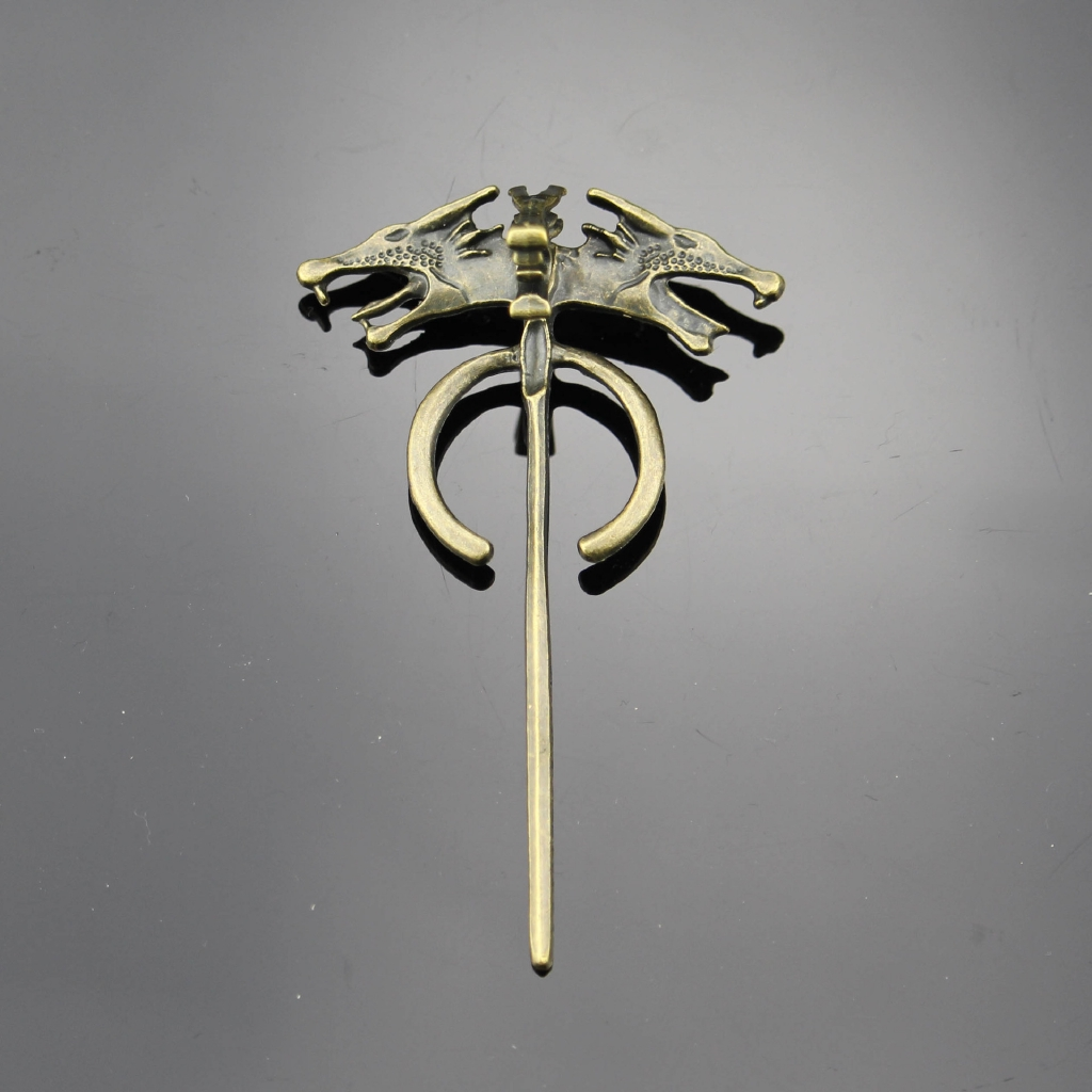 Game of Thrones Daenerys/'s Dragon Brooch Pin Movie Jewelry
