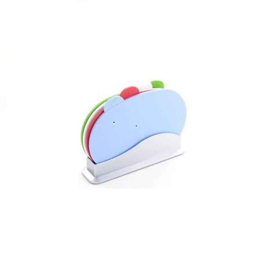 4-in-1 Color Coded Chopping Board