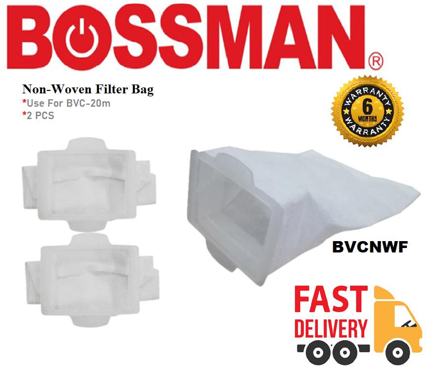 BOSSMAN BVCNWF NON WOVEN FILTER BAGONLY  USE FOR BVC-20M  TAS PENAPIS