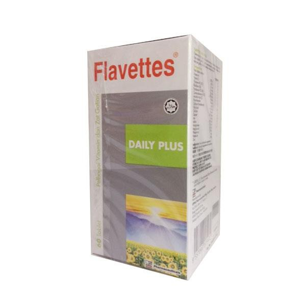 Flavettes Daily Plus Multivitamin 60's