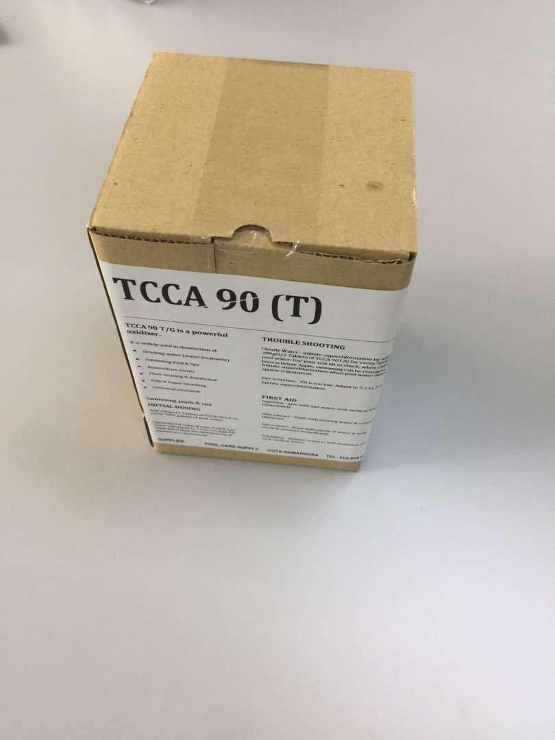 Chlorine Klorin Tablet (1KG) TCCA 90% T for swimming pool