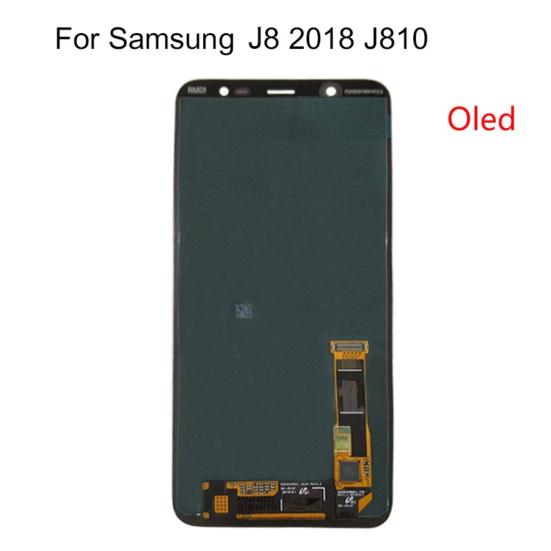 For Samsung Galaxy J8 2018 J810 Screen LCD Display+ Touch Screen Screen SM-J810 Oled