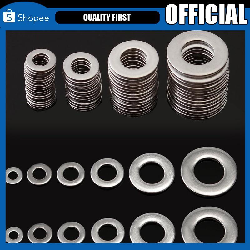 A2 Stainless Steel M3//M4//M5//M6//M8//M10//M12//M14//M16//M20 Fender Repair Flat Washers