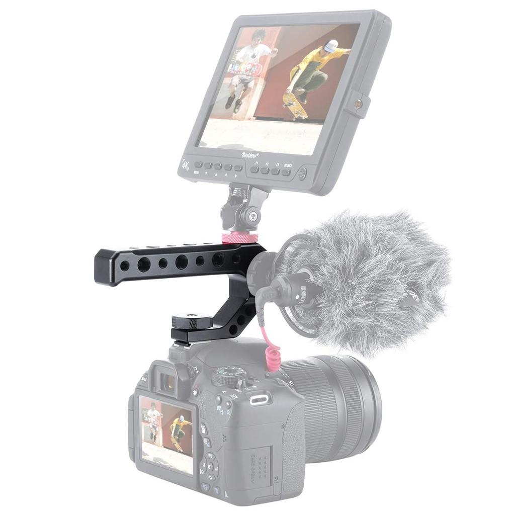 UURig R005 DSLR Camera Top Handle Metal Hot Shoe Adapter Universal Hand Grip