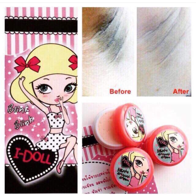 I Doll White Armpit Cream Ready Stock Shopee Malaysia