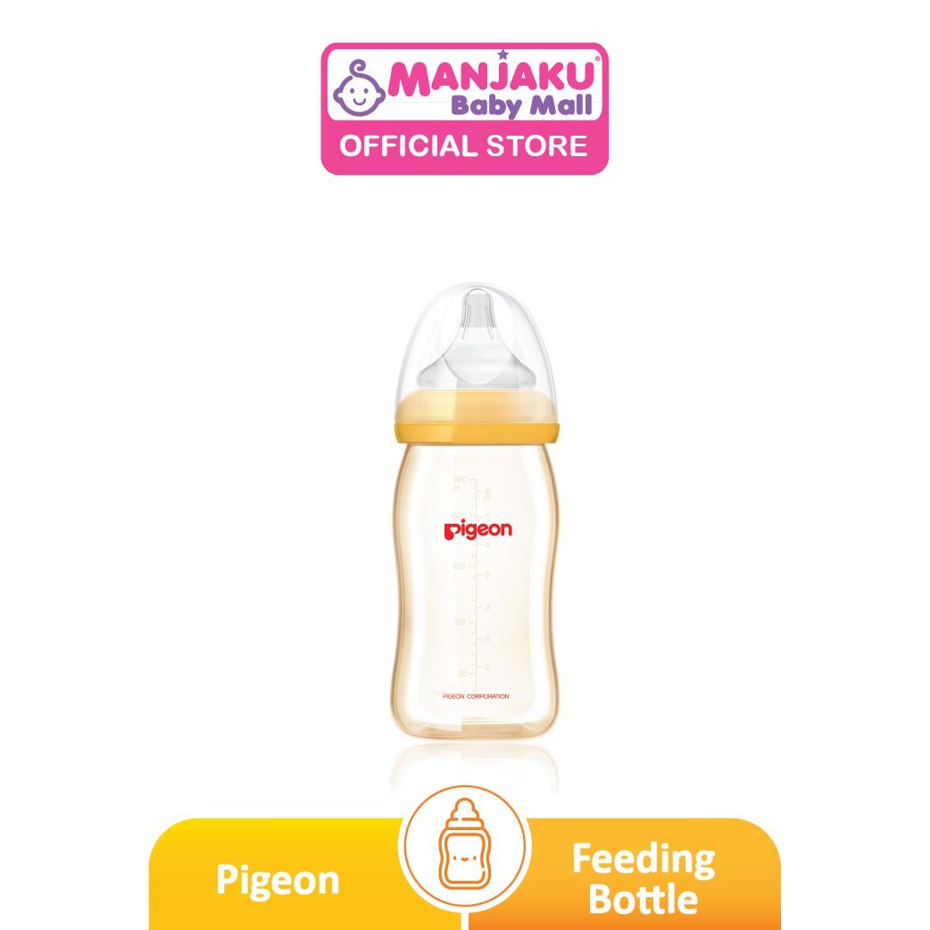 Pigeon SofTouch™ Wide Neck PPSU Nursing Bottle - 240ml