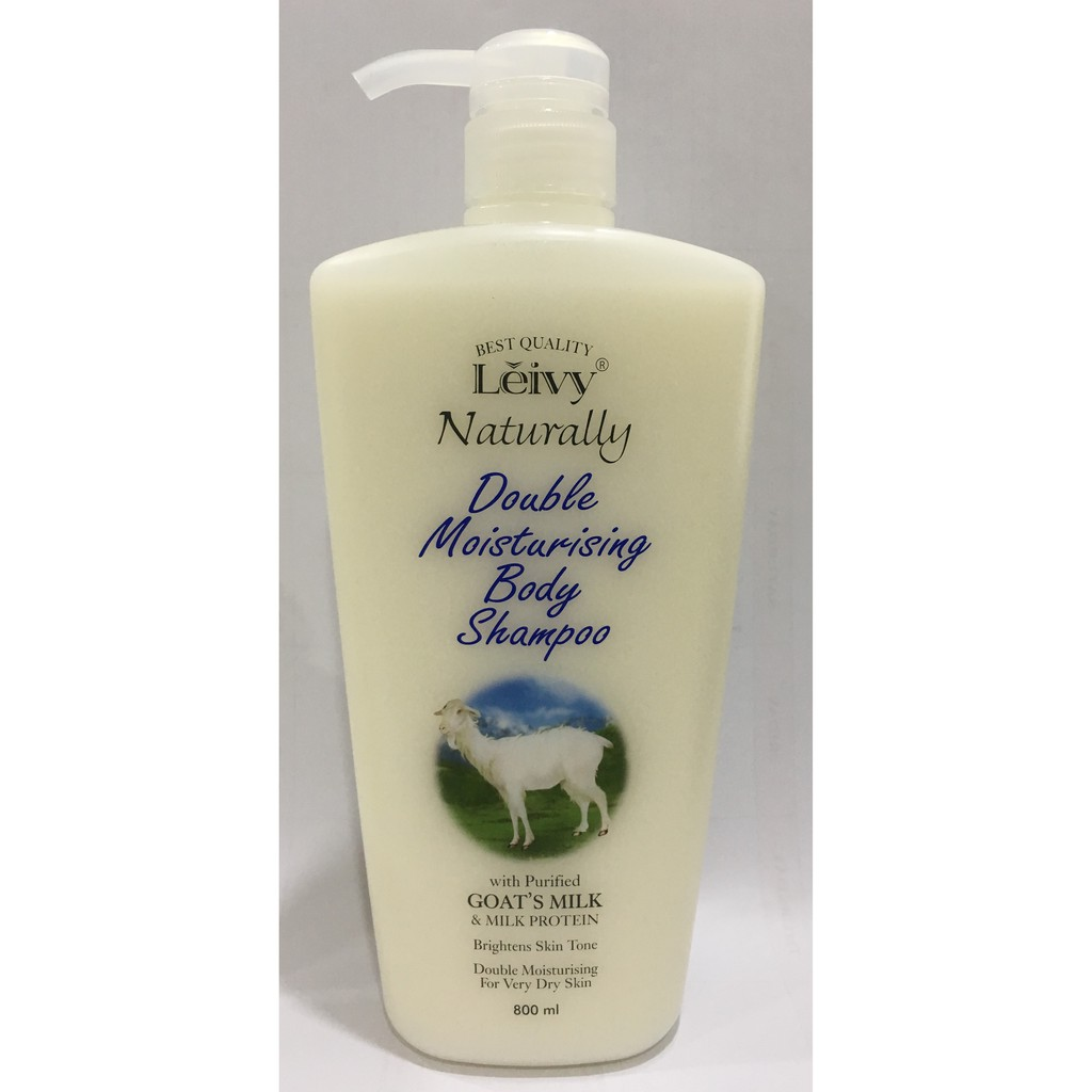 Leivy Shower Cream Goat Milk 250ml Spec Dan Daftar Harga Terbaru Goats Reffil 900 Ml Naturally Protein Cap Shopee