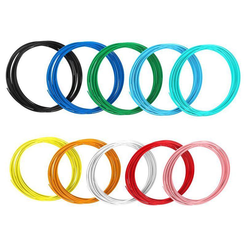 3DPen Filament Refills 1.75mm,15 Different Colors for 3Dpencils–5 Meter Each