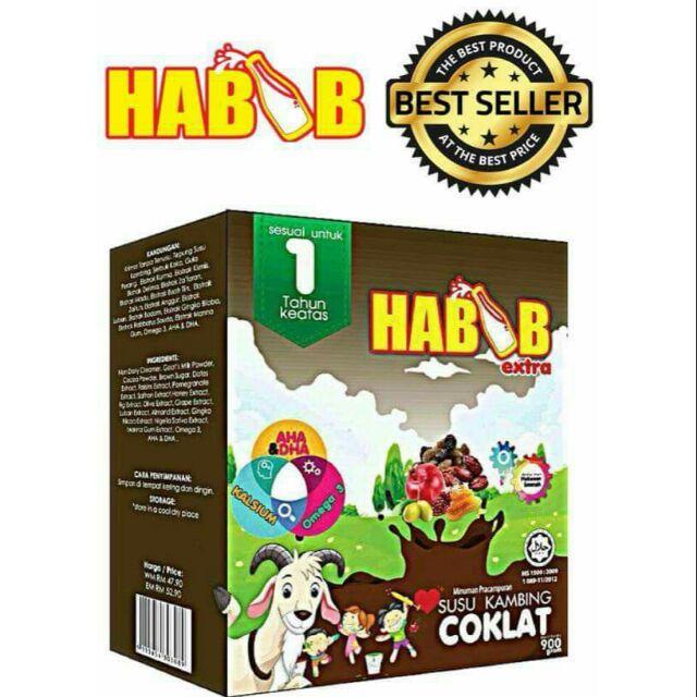 FREE GIFT5 BOX HABIB EXTRA SUSU KAMBING COKLAT 900gm