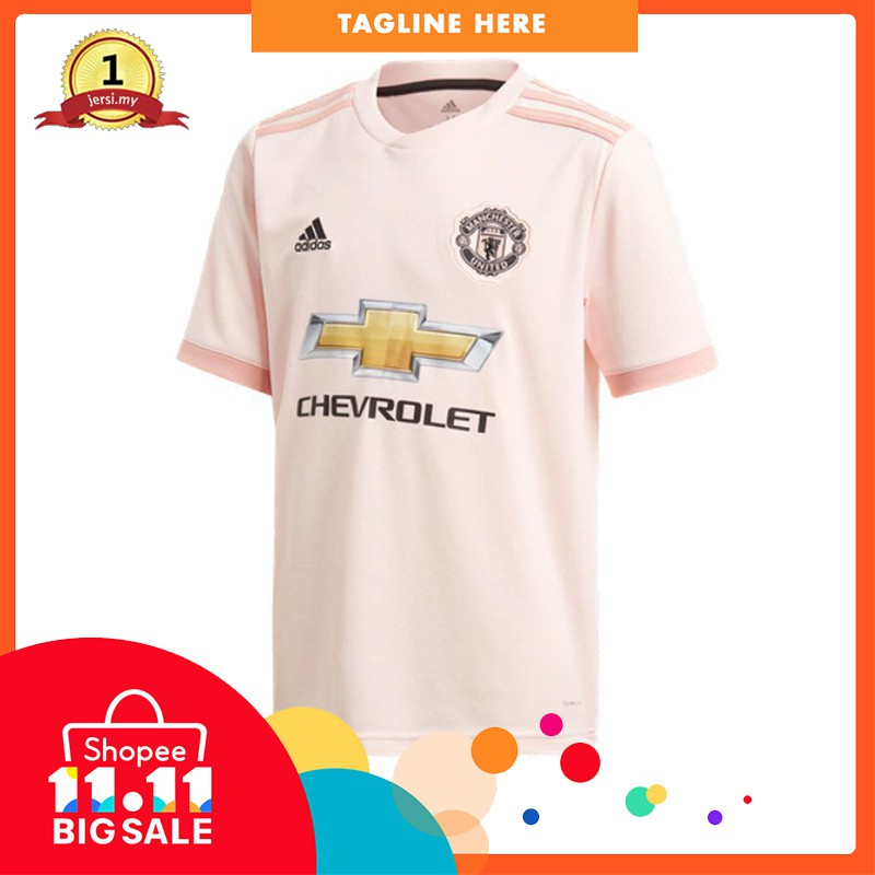 MANCHESTER UNITED AWAY JERSEY 2018 19  88123c154