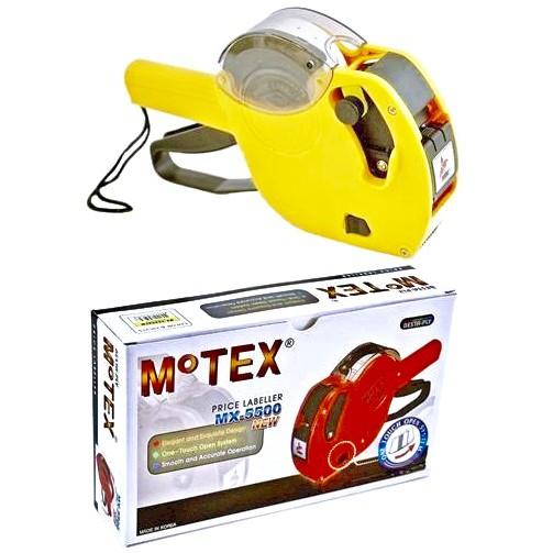 Motex MX5500 Price Labeller Machine New One-Touch Open System