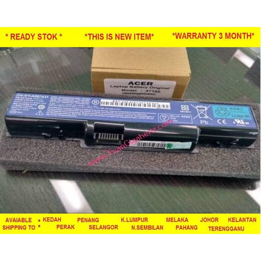 Battery Acer Aspire V3 471 551 771 Shopee Malaysia Baterai E1 421 421g 431 431g 471g 521 531 Oem
