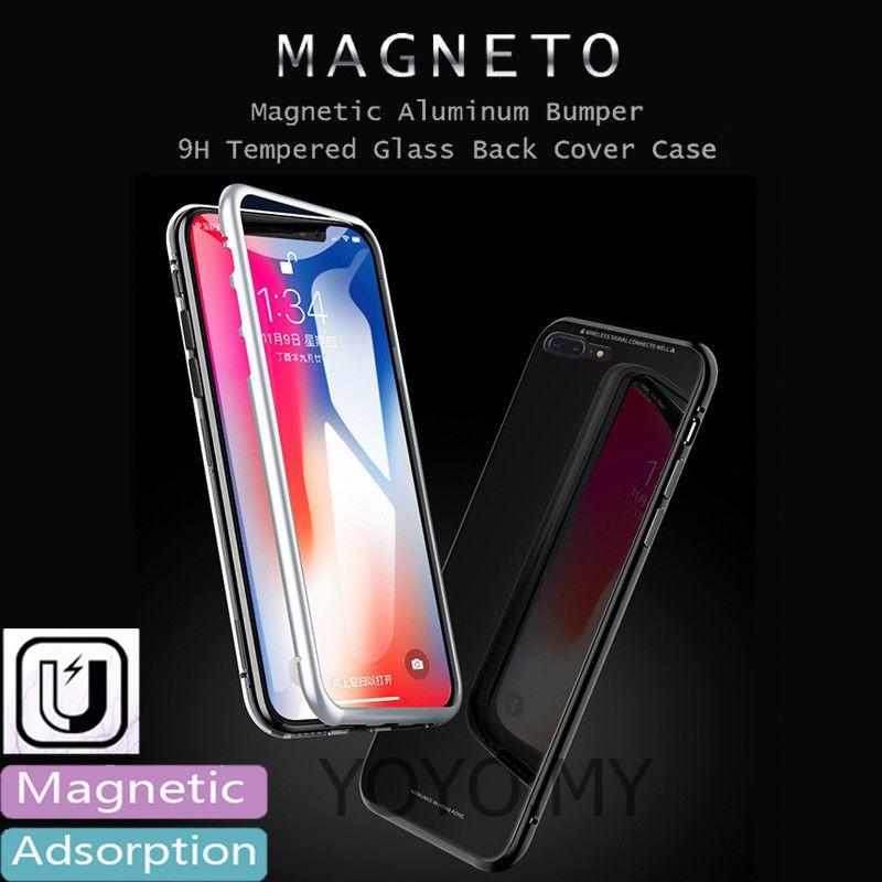 Xiaomi Mi Mix 2S Fashion Slim Metal Bumper Tempering Glass Shockproof Hard Case   Shopee Malaysia
