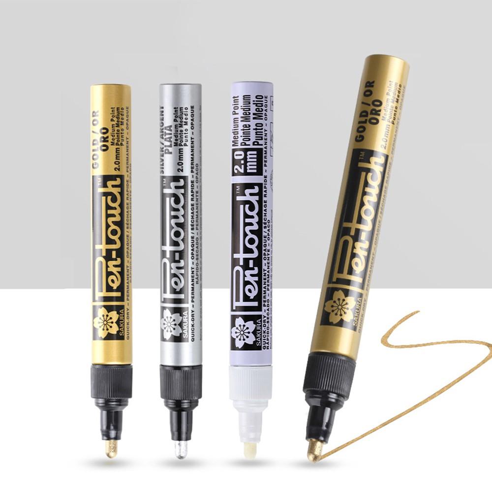 Sakura Pen-touch Paint Marker 1PC Medium Point 2mm Metallic Gold