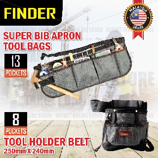Waterproof Tool Bag Electrician Waist Pack Hardware Toolkit Pocket Pouch L/&6