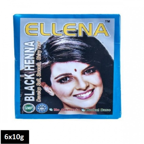 Ellena Black Henna (6 sachets x 10g)