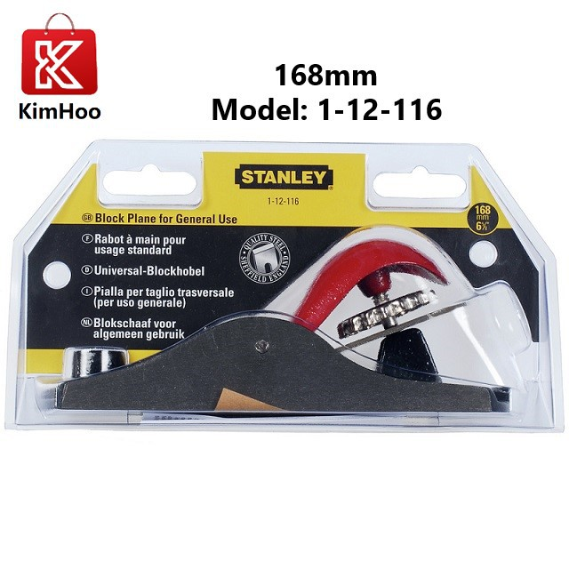 READY STOCK Stanley General Purpose Block Plane 168mm 1-12-116