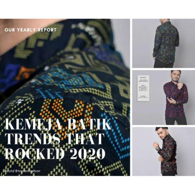 3633 Batik men shirt slimfit