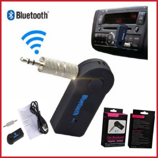 🔥HOT ITEM🔥 Wireless USB Mini Bluetooth Aux Sterio Car Adapter Receiver