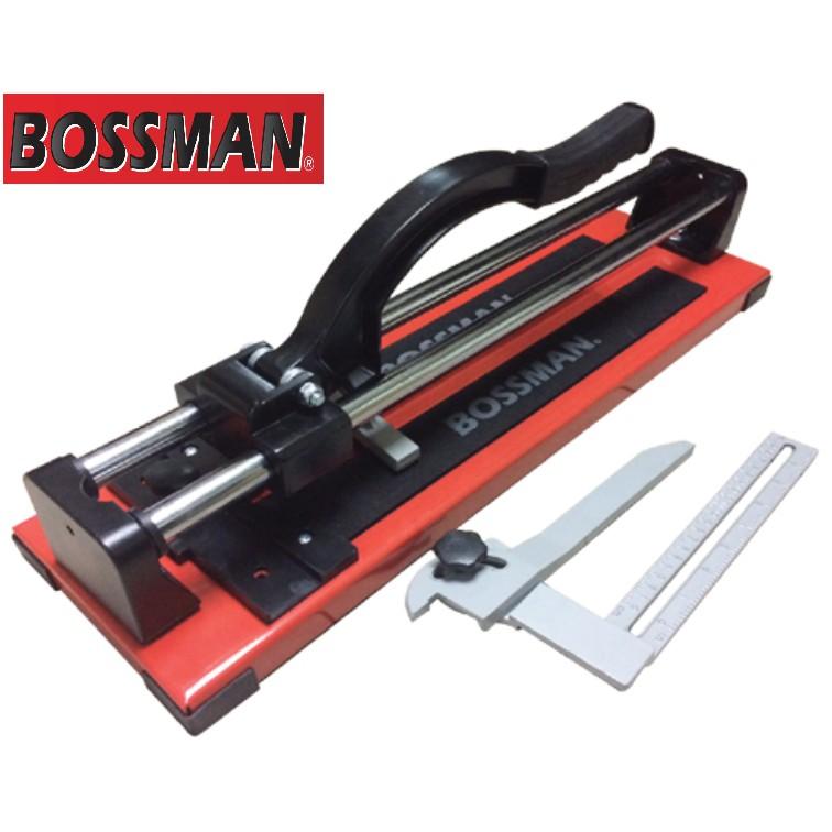 BOSSMAN B1600S Manual Tile Cutter 600mm Standard Scoring Wheel W Double Rail