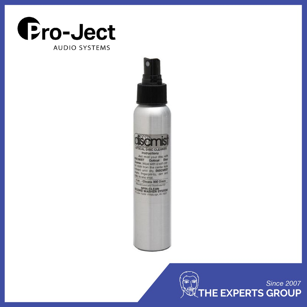 Pro-Ject Spin Clean Discmist 8 oz (disc cleaner)