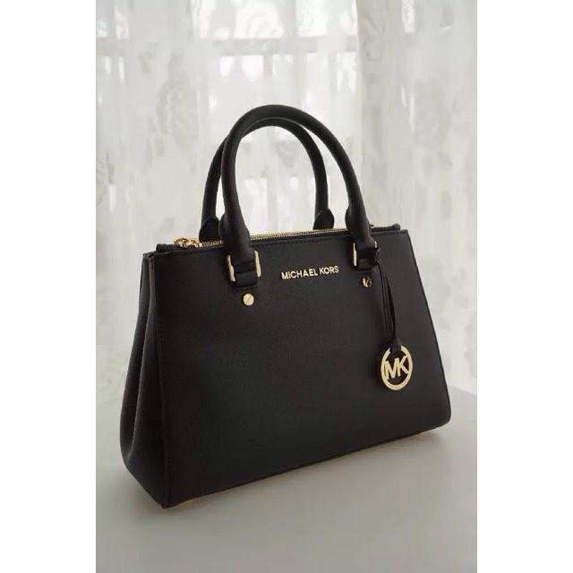 684b6a7e55ba (Premium Quality) Michael Kors Bag MK Trendy Ring Tote / Sling Handbag |  Shopee Malaysia