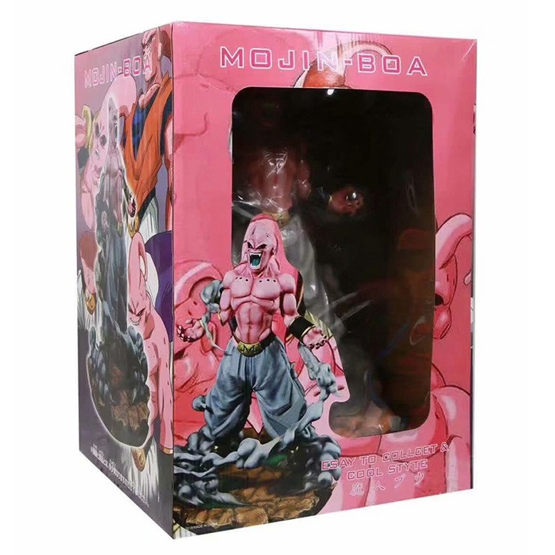 Super Large Dragon Ball Z Majin Buu Boo Action Figure Statue Collection Toy 46cm