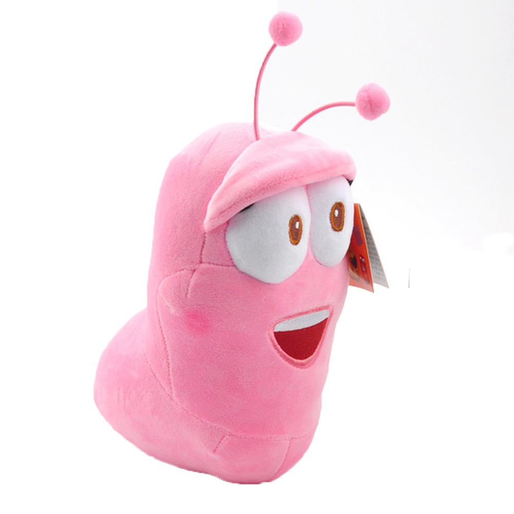 Korean Stink Bug Soft Dolls Comedy Pink Insect Larva Plush Toys Kid Xmas Gifts