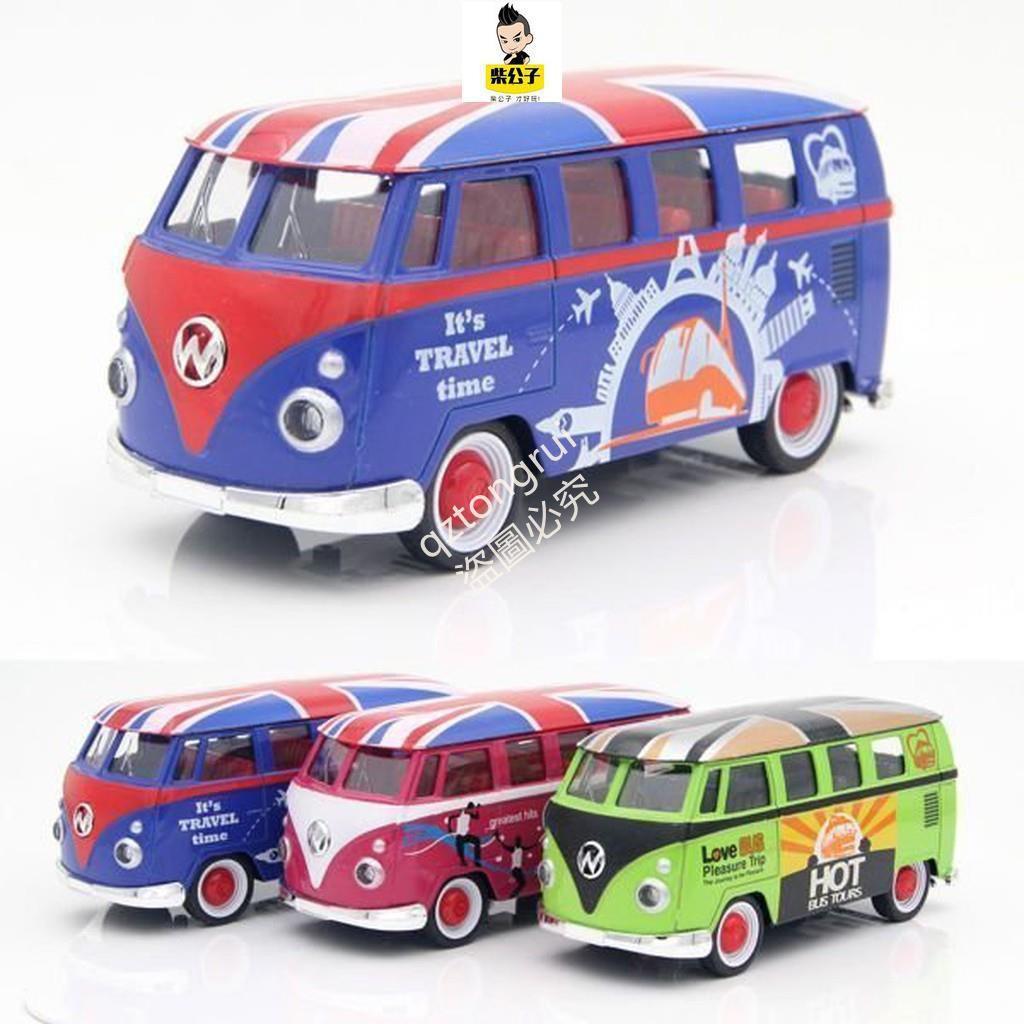 wood bus volkswagen vw t1 souvenir simulation car