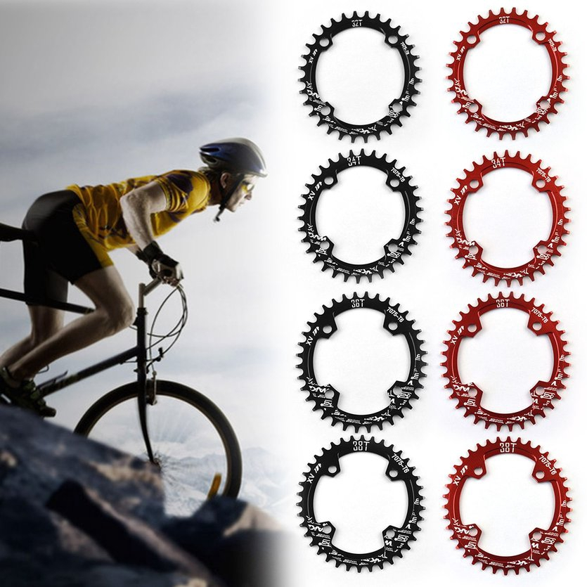 SNAIL 104mmBCD 30T Round MTB Bike Chainring Narrow-Wide Cycling Chainwheel