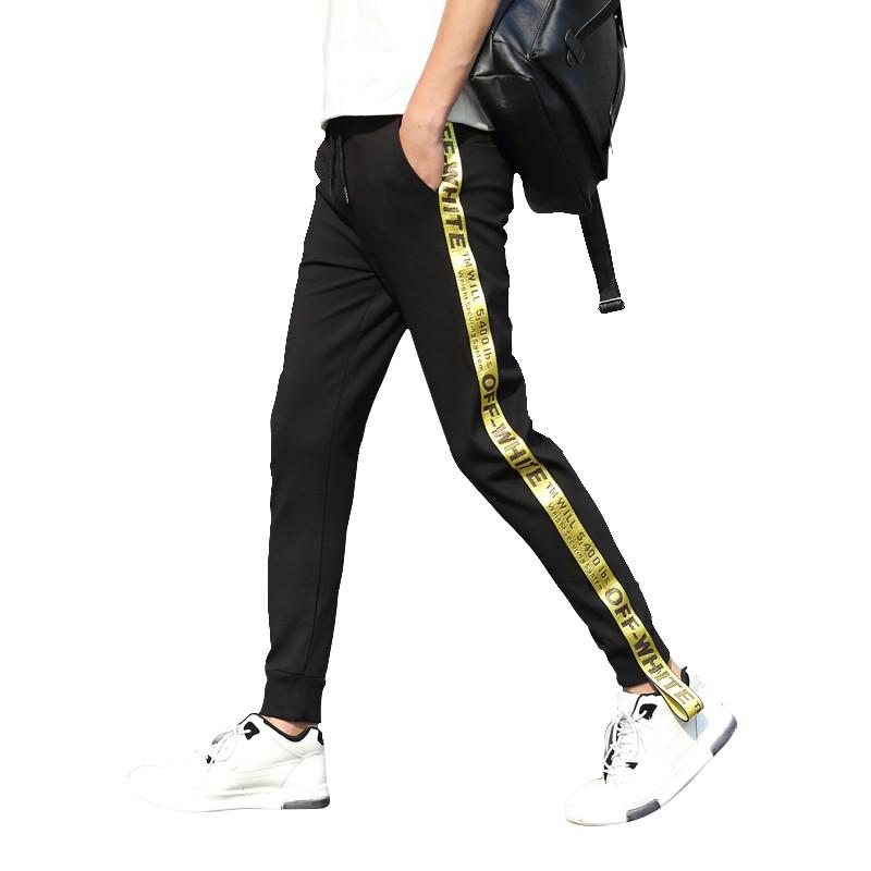 31566438cee Men s Casual Pants Loose Korean Straight Trend