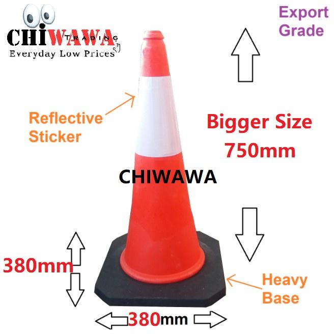Export grade parking cone traffic block reflective safety standard 30