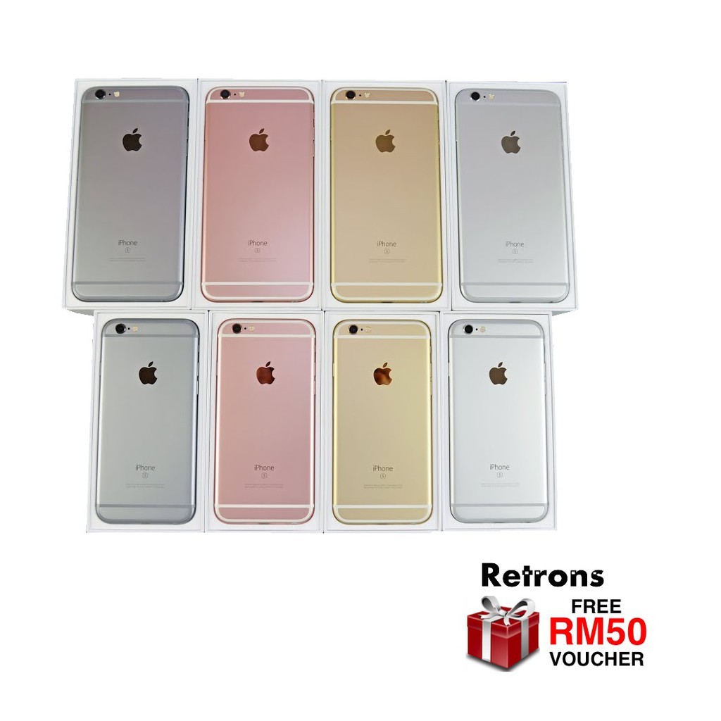 Original Apple IPhone 6S Plus 16GB 64GB 128GB Used 9.7/10 Condition + FREE RM50 Voucher + FREE Case [1 Month Warranty]